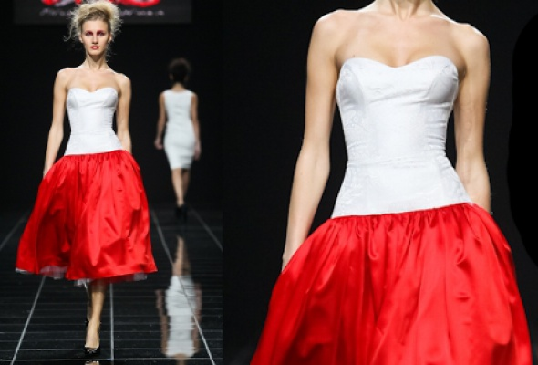 Самые эффектные платья Volvo Fashion Week - Фото №14