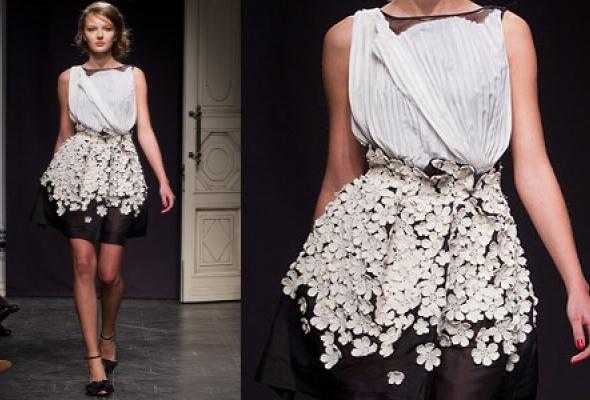 Самые эффектные платья Volvo Fashion Week - Фото №17