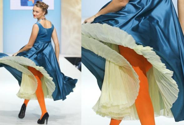 Самые эффектные платья Volvo Fashion Week - Фото №22