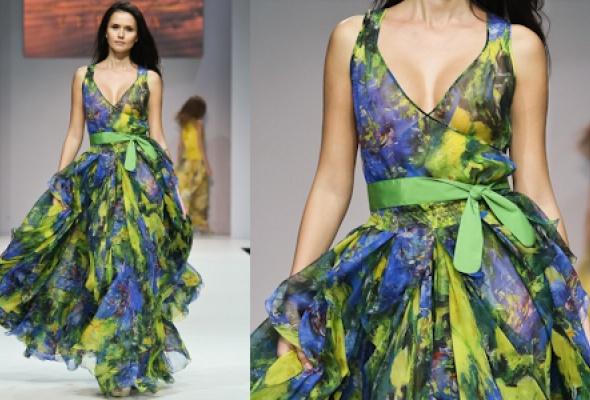 Самые эффектные платья Volvo Fashion Week - Фото №23