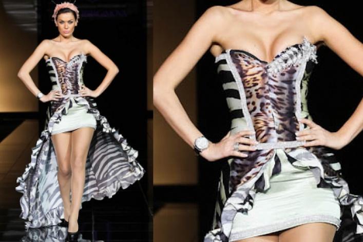 Самые эффектные платья Volvo Fashion Week
