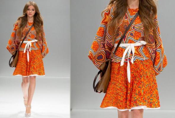 Самые эффектные платья Volvo Fashion Week - Фото №28