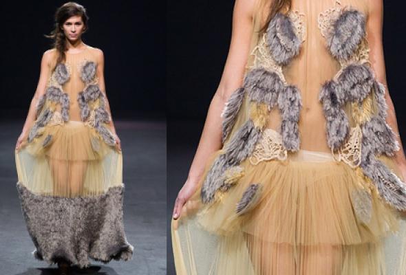 Самые эффектные платья Volvo Fashion Week - Фото №32