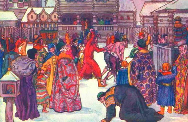 Дикие нравы средневековой Москвы