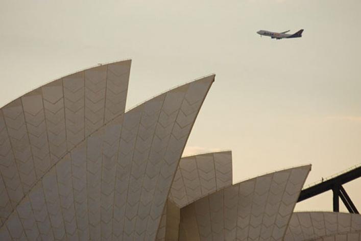 Сидней: лето зимой