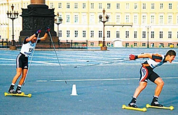 """Гонка """"Лыжный спринт на Дворцовой"""""""