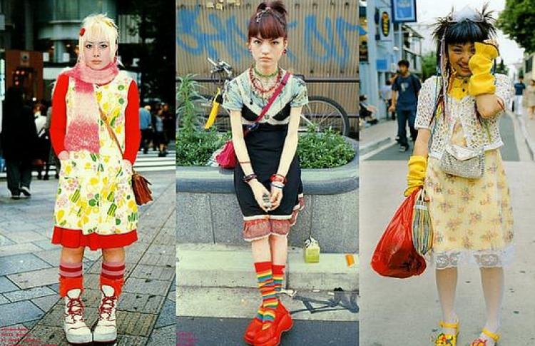 Большая анатомия японской моды