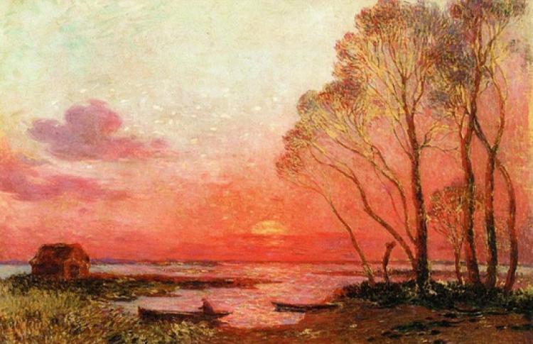 Рассветы и закаты в импрессионизме