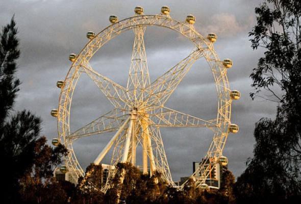 Москвичи получат крупнейшее вмире колесо обозрения - Фото №4