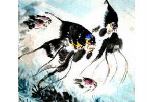 Китайская живопись Го Хуа