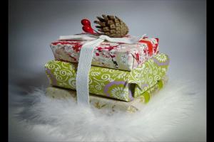 Новогодний декор подарков