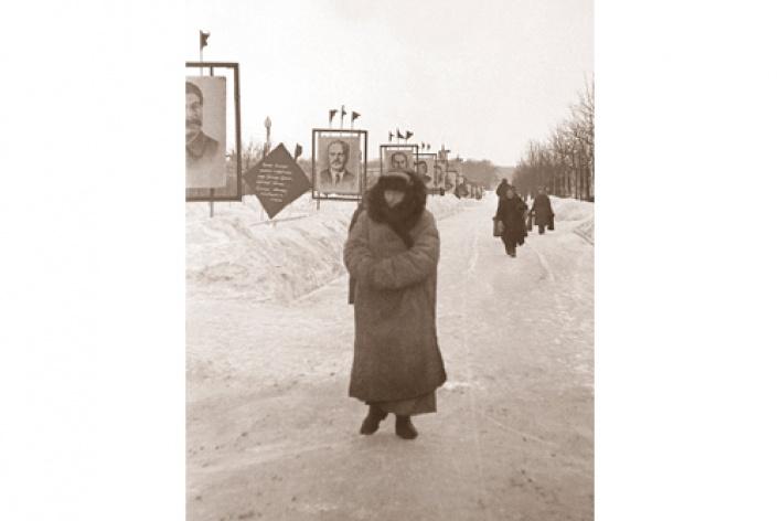 Москва в фотографиях Эмлен Найт-Дэвис