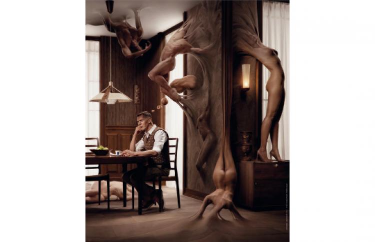 Фотопроект к юбилейному выпуску календаря Lavazza-2012