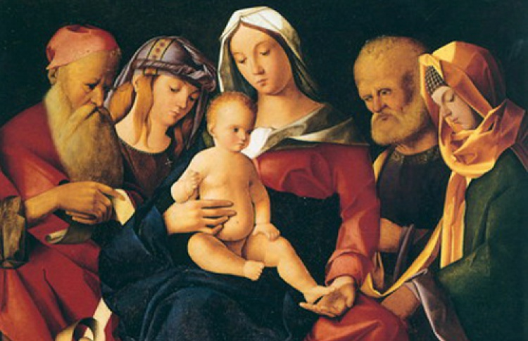 Небесное и земное в искусстве Италии