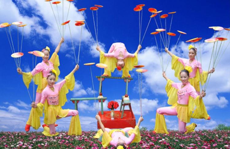 Гастроли китайского цирка