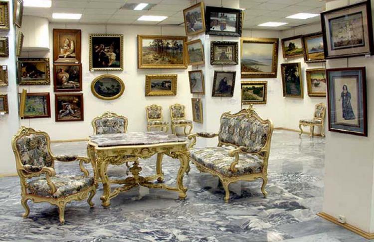 Изобразительное искусство на антикварном рынке