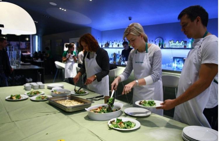 Открытая кухня Meet&Greet