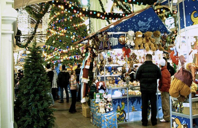 Зимний базар международного женского клуба