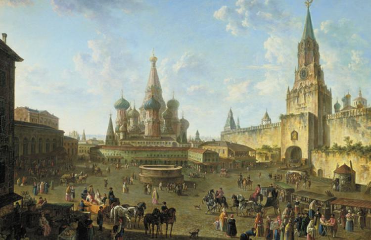 Москва в середине XVIII века