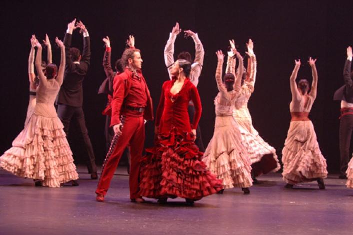 Гастроли Национального балета Испании