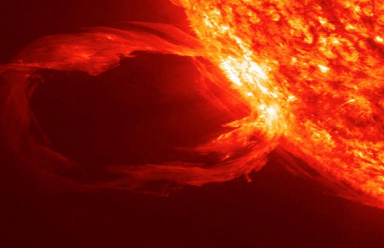 Активное Солнце и его воздействие на Землю