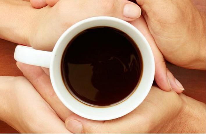 Выпить кофе бесплатно теперь можно в«Кофеине»
