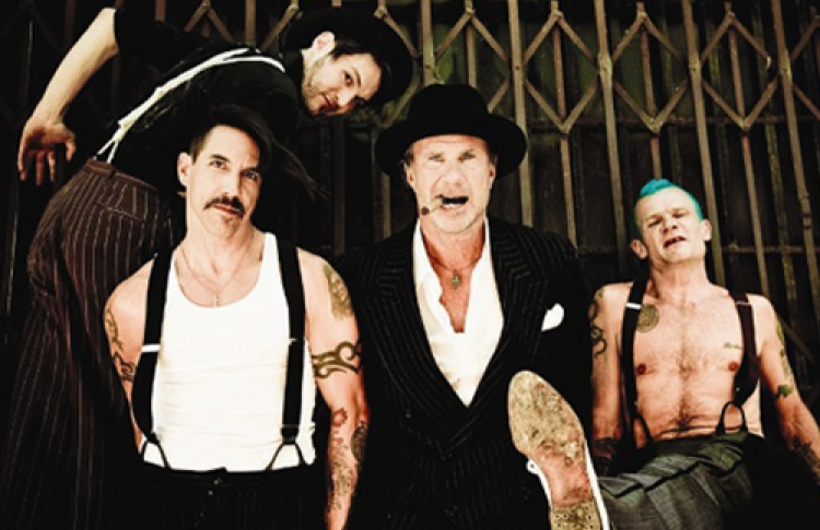 Red Hot Chili Peppers едет вПетербург