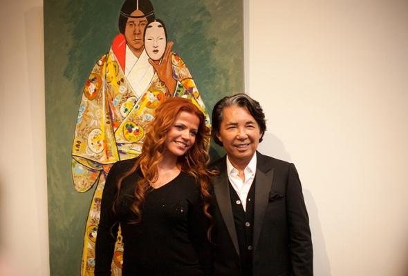 Фоторепортаж: выставка Кензо Такада - Фото №27