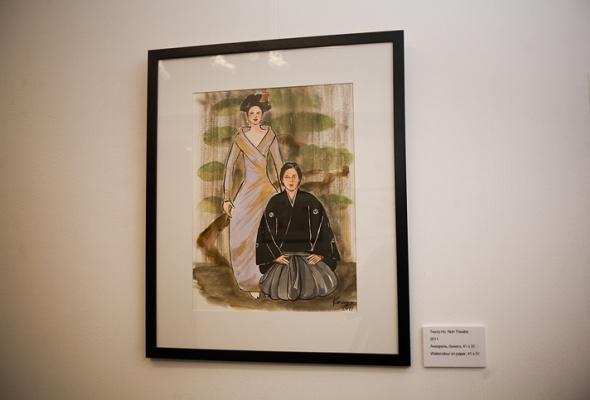 Фоторепортаж: выставка Кензо Такада - Фото №18