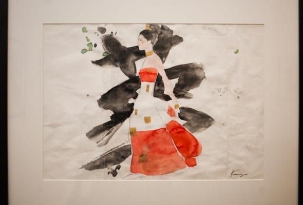 Фоторепортаж: выставка Кензо Такада - Фото №19