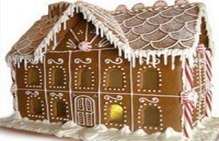 Рождественские пряничные домики
