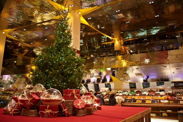 Рождественский базар в Цветном