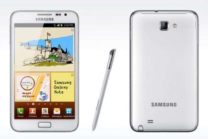 Белый смартфон. Пора белоснежных подарков