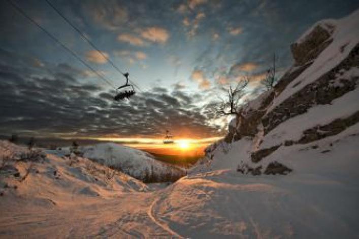 Белые склоны. Лучшие лыжные склоны Москвы иобласти