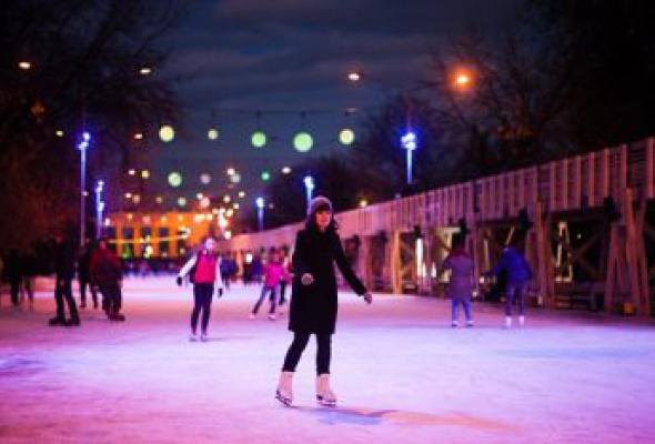 Где покататься наконьках— лучшие катки Москвы - Фото №0
