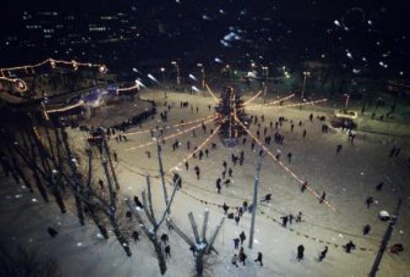 Белый снег. Ностальгия попарковой романтике - Фото №4