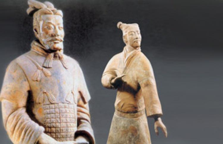 Терракотовая армия первого императора Китая. Династия Цинь. III век до н. э.