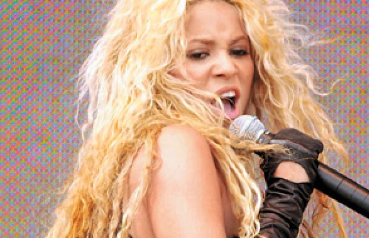 "Фестиваль ""Красное лето 2006"" Shakira"