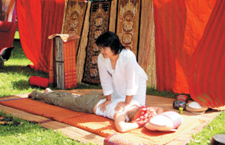 Тайский массаж на дом
