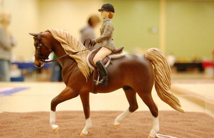 Новогоднее конное шоу
