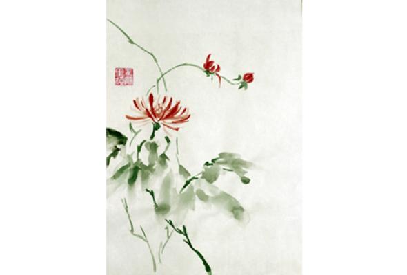 Новогодний мастер-класс по живописи У-Син - Фото №0