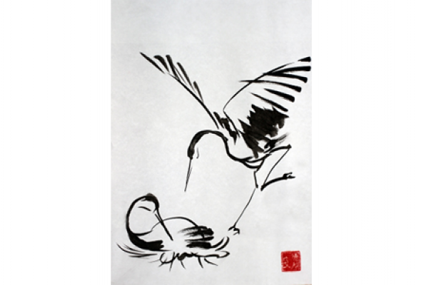 Новогодний мастер-класс по живописи У-Син - Фото №1