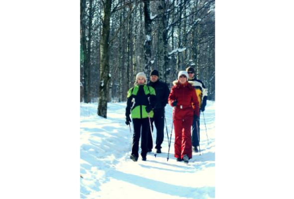 Скандинавская ходьба - Фото №0