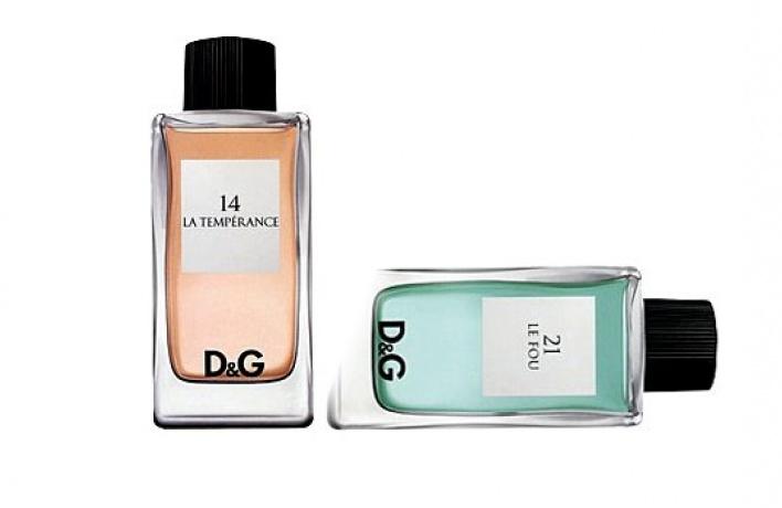 Новые ароматы вколлекции «D&GAnthology»