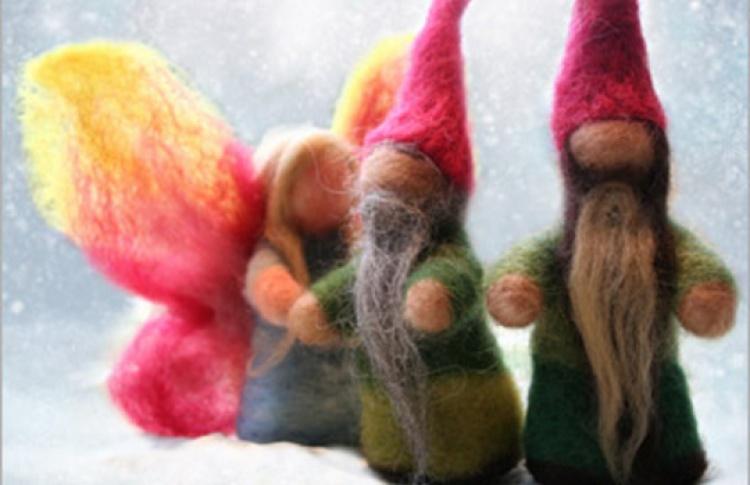Рождественские вальдорфские интерактивные сказки