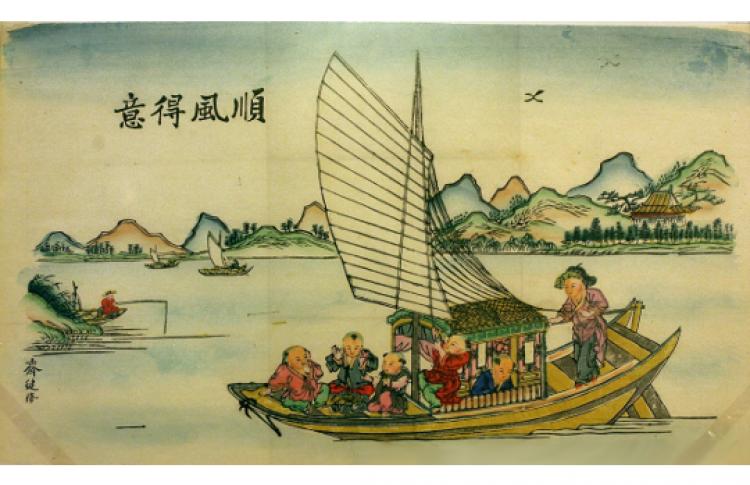 Чудесный мир лубка: народная картинка России и Китая XIX — начала XX вв