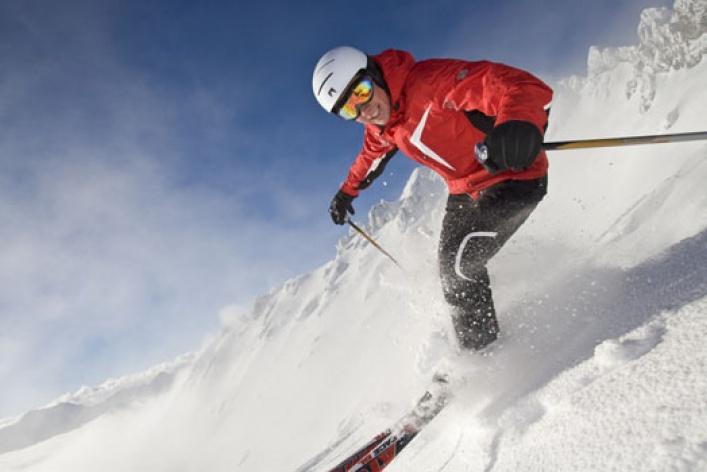 Как освоить горные лыжи
