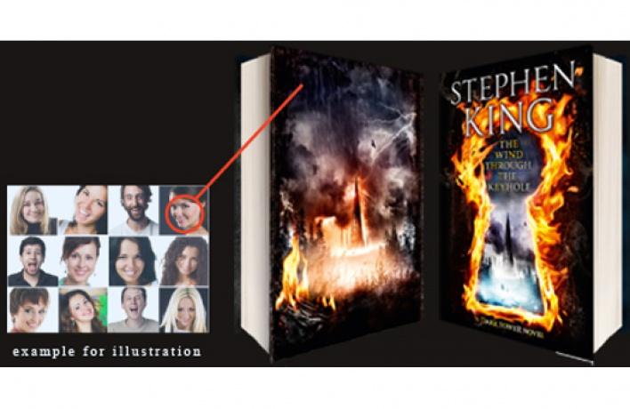 Попади наобложку новой книги Стивена Кинга