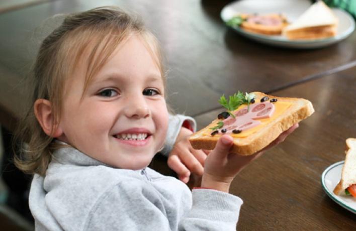 Зимние занятия Детского кулинарного клуба