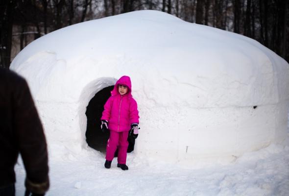 Снежное королевство вЛужниках: фоторепортаж - Фото №1